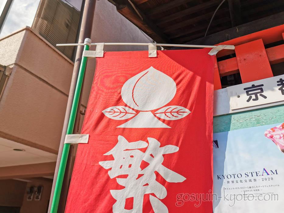 繁昌神社の桃の神紋
