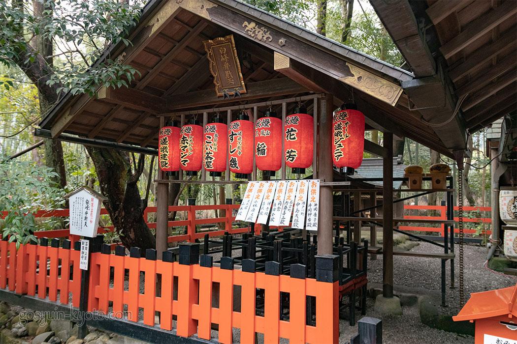 野宮神社の白峰弁財天社