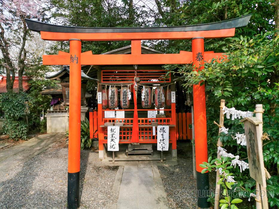 水火天満宮の六玉稲荷大明神社