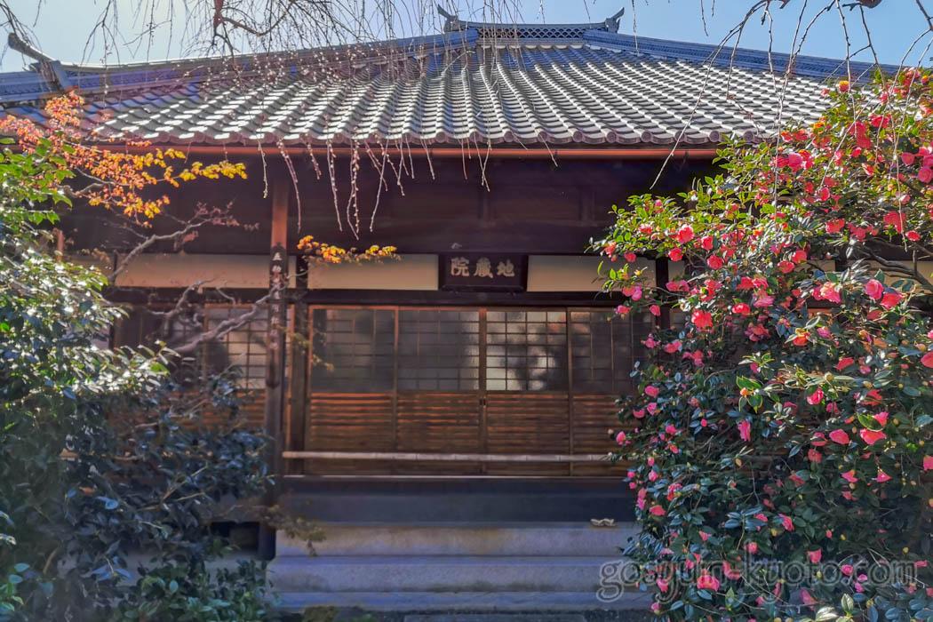 椿寺(地蔵院)の本堂