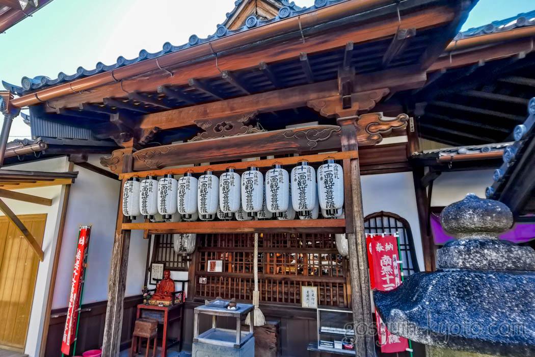 椿寺(地蔵院)の観音堂